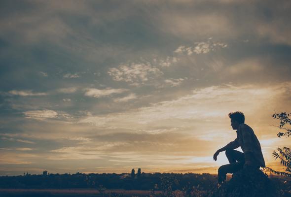 微信孤单悲伤风景头像