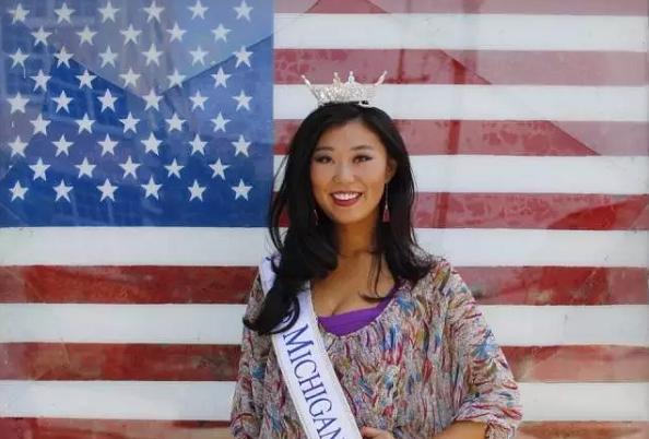 华裔 女孩 当选 密歇根 州 小姐 将 竞选 美国 小姐 ...