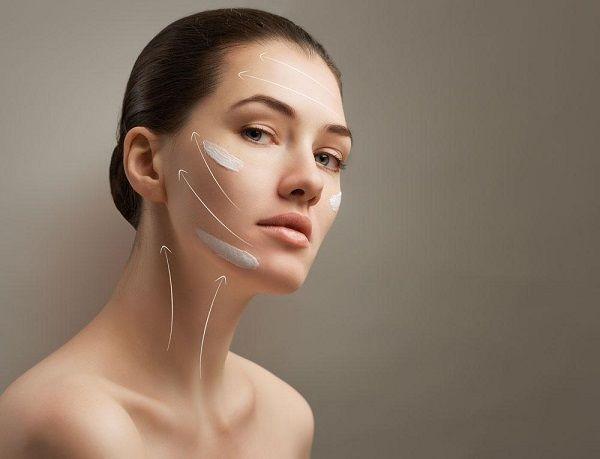 化妝品模特圖片